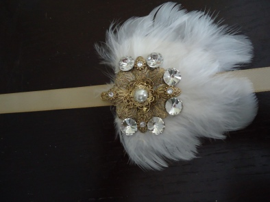 Halloween Flapper Headband 295