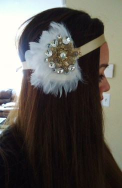 Halloween Flapper Headband 310