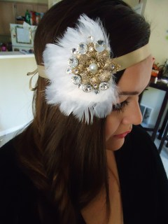 Halloween Flapper Headband 324