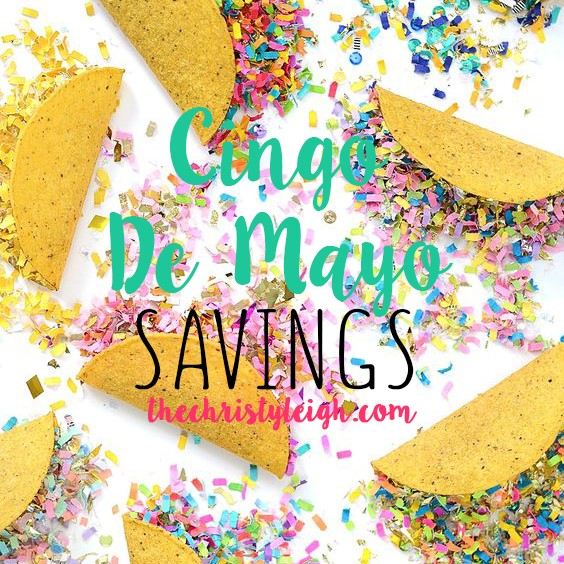 Cinco De Mayo Savings
