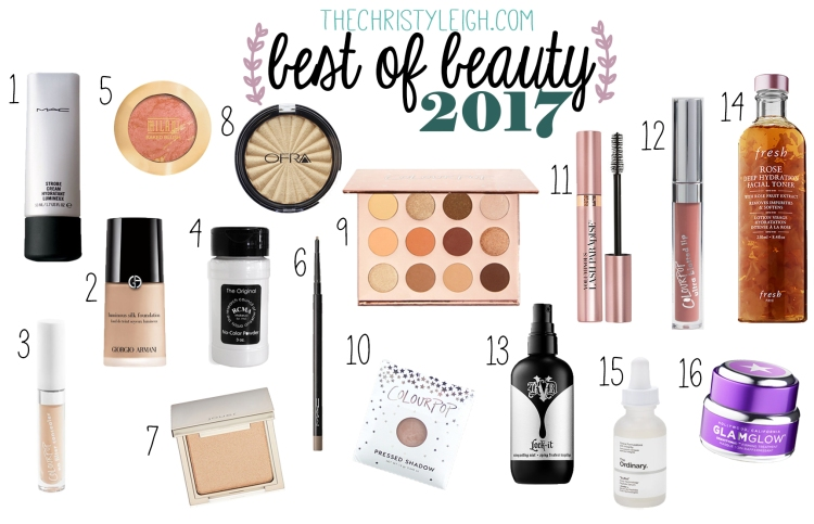 Best of Beauty 2017 Collage